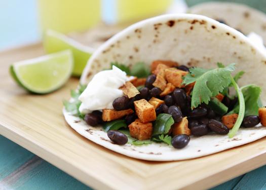 recipe black bean sweet potato taco