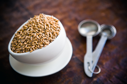 grinding your own flour from whole grains