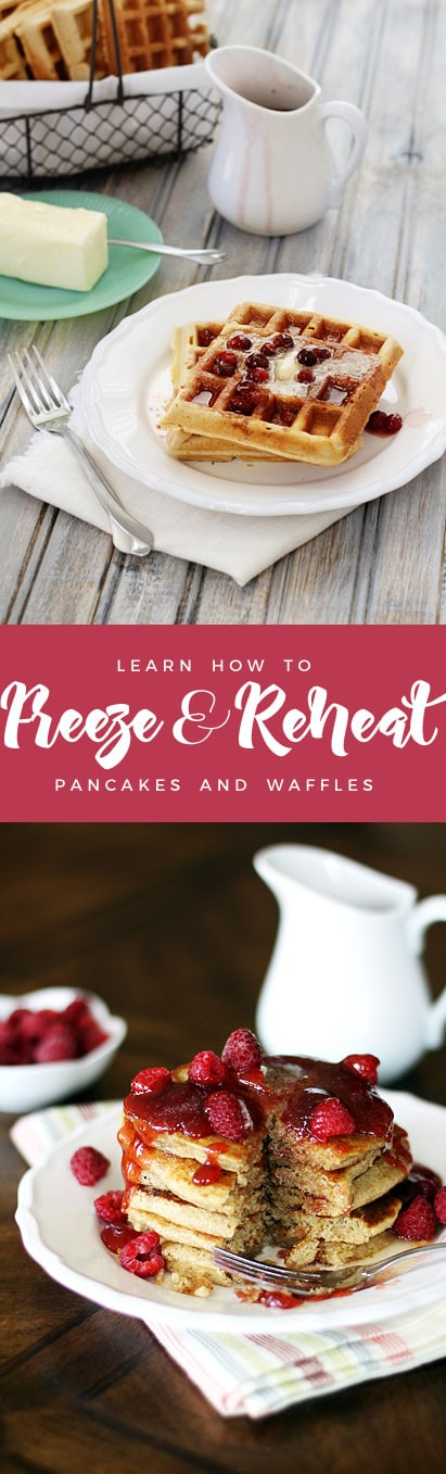 How to Freeze and Reheat Pancakes and Waffles
