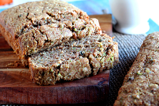 zucchini bread recipe with quinoa