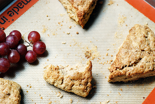 maple walnut scone recipe