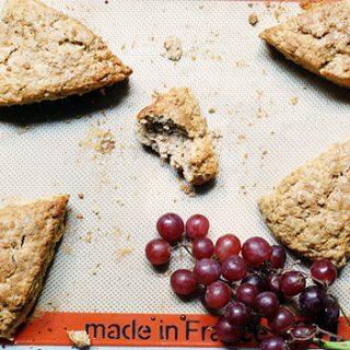 recipe for maple walnut scone