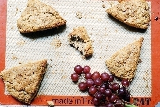 recipe for maple walnut scone