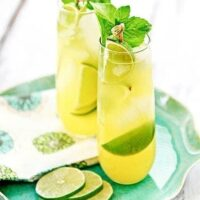 Pineapple Limeade Cooler