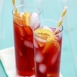 A batch of this Tangerine Raspberry Iced Tea Recipe is the perfect way to toast to summer. Iced tea is simple to make, not too unlike making regular tea. Steep the tea bags in hot water, then cool the tea and add ice. For extra flavor try adding herbs, such as mint, or fresh fruit to the mixture.