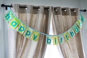 happy birthday banner photo