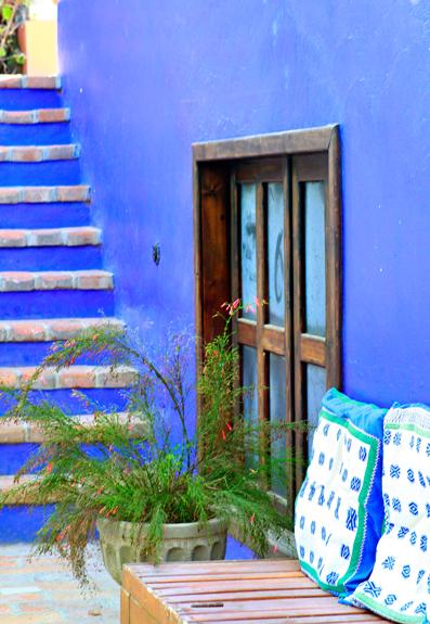 hotel california stairs window