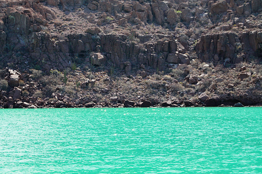 turquoise water in mexico