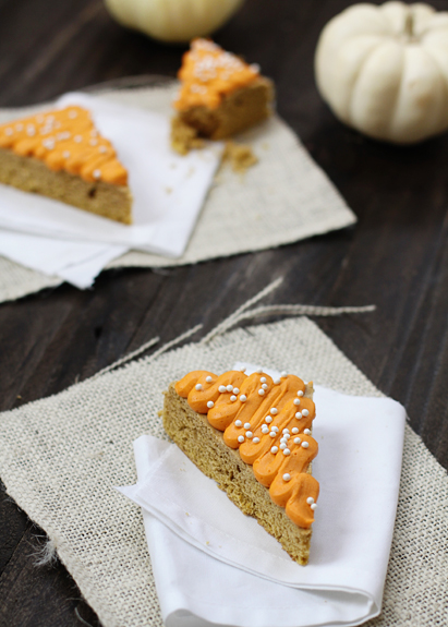 pumpkin sugar cookie bars