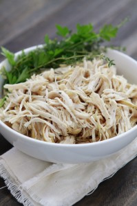 all purpose crock pot chicken shredded