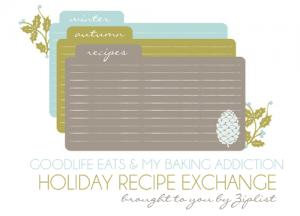 holiday recipe exchange 2011