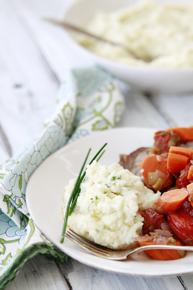 mascarpone chive mashed potato recipe