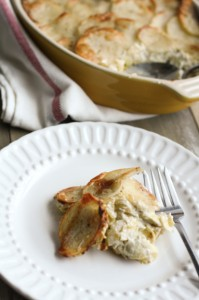 artichoke leek and potato casserole