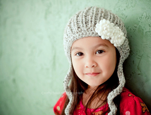 cozy knit hat