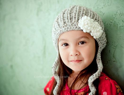 cozy knit hat