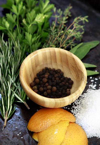 herb citrus turkey brine