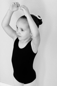 ballerina bun
