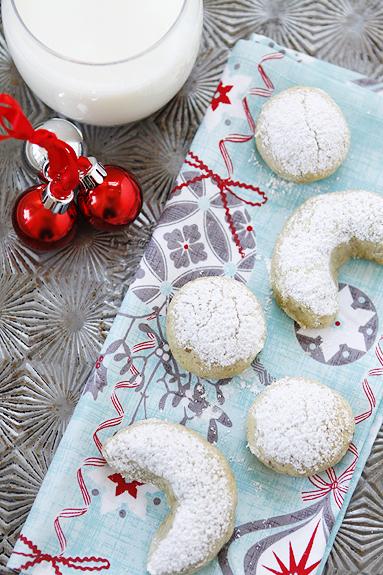 pistachio orange crescent christmas cookie recipe