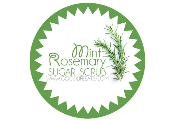 picture about Printable Sugar Scrub Labels titled Handmade Sugar Scrub Rosemary Mint Sugar Scrub Recipe