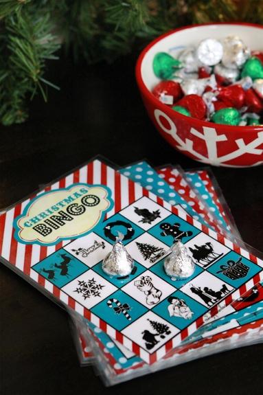 christmas book bingo activity