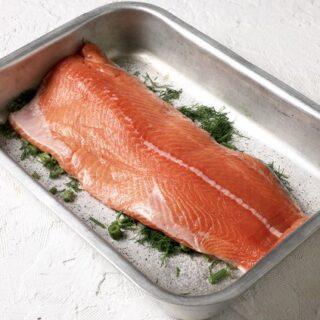 norwegian salmon gravlax