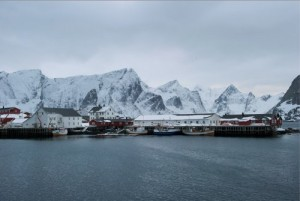 norwegian coastal village salmon farming