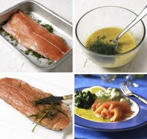 norwegian salmon gravlax recipe
