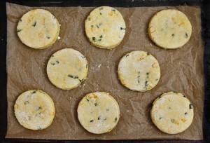 chili cheese cornbread scone