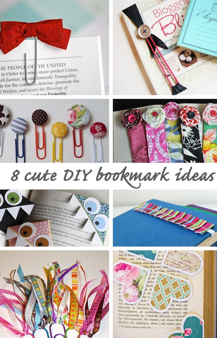 8 cute diy bookmark ideas good life eats for How to buy art for your home