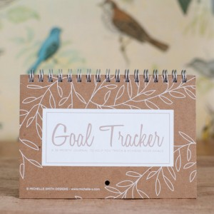 goal tracker notebook