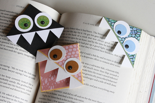 8 cute diy bookmark ideas fun kids craft idea - Bookmark Design Ideas