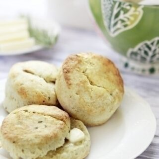Rosemary Potato Buttermilk Biscuits