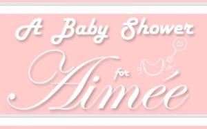 baby shower menu