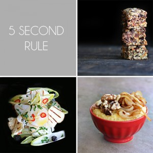 5 Second Rule Recipes / Cheryl Sternman Rule