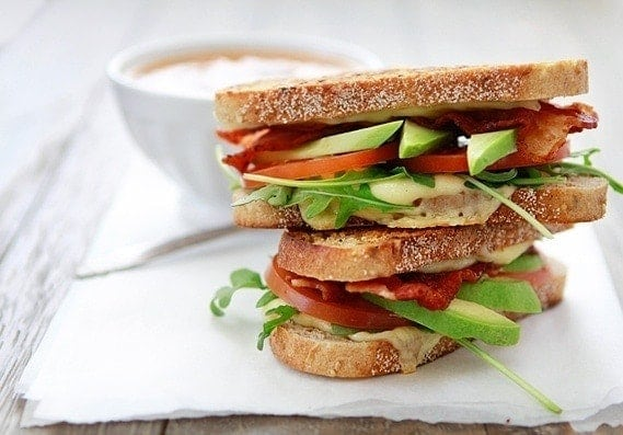 Grilled Cheese with Tomato, Avocado, Bacon, and Arugula | Because sandwiches are very much about personal preference, feel free to use this recipe more as a guideline. If you prefer more cheese or arugula, for example, go ahead and adapt the recipe according to your personal tastes.
