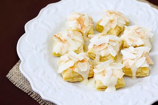 Coconut Cream Cheese Pastry Bites | Good Life Eats