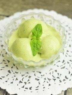 lemon basil ice cream recipe