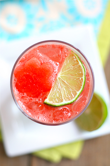 Sparkling Watermelon Limeade | Watermelon Limeade Recipe | Good Life ...