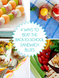 avoid the back to school sandwich blues