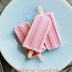 creamy strawberry lemonade popsicle recipe