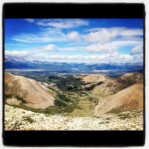 easy fourteener hike mt sherman