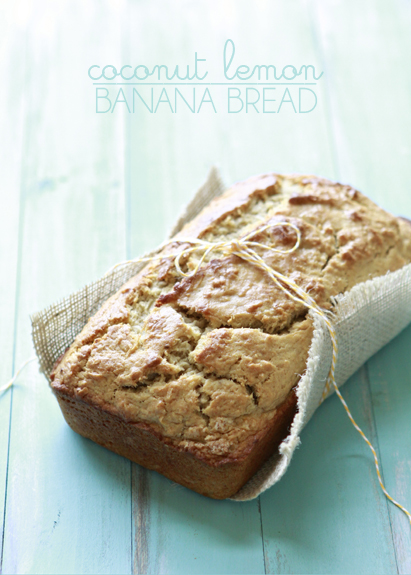 Coconut Lemon Banana Bread | Banana Bread with Coconut | Good Life ...