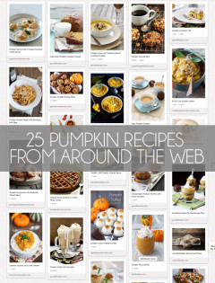 25 pumpkin recipes to try this fall