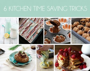 time saving kitchen tricks