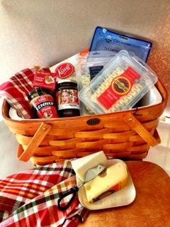 tailgaiting picnic basket giveaway