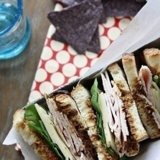 Turkey Sandwiches with Jarlsberg and Sun Dried Tomato Pesto