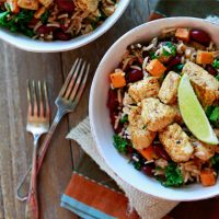 Fall Mexican Rice Bowls