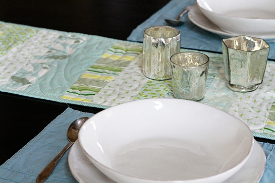 JennyM's Quilted Table Runner