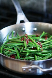 sauteed bacon green bean recipe