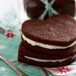 chocolate orange sandwich cookies feature